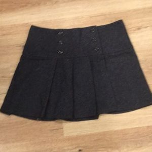 Benetton tweed mini skirt